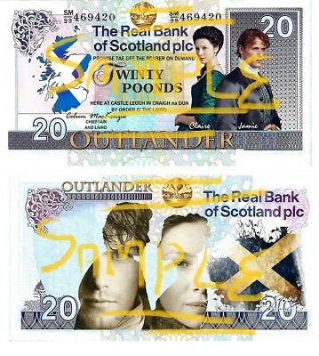 Special Edition Novelty OUTLANDER Smakeroonies Bank Notes