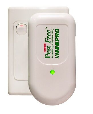 Pest Free Proven Chemical Free Pest Management Pro Plug In Use Repels Rats & Mic