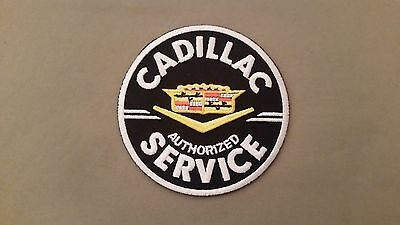 cadillac embroidered  iron on patch