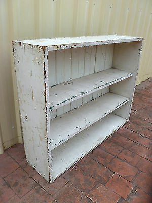 Genuine~Antique~Vintage~c1920s~Pine~Rustic~Shabby~French~Country~Cottage~Shelves