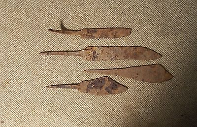 Civil War Period Knives From Camp Site (4)