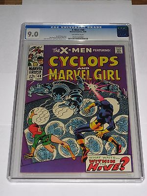 X-Men #48 CGC 9.0 Romita Cover OW Pages