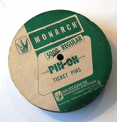 Monarch 5000 Ticket Pins - Most of the Roll