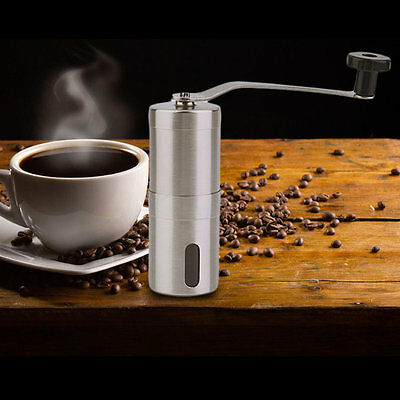 Practical Coffee Bean Stainless Mill Steel Kitchen Hand Manual Handmade Grinder