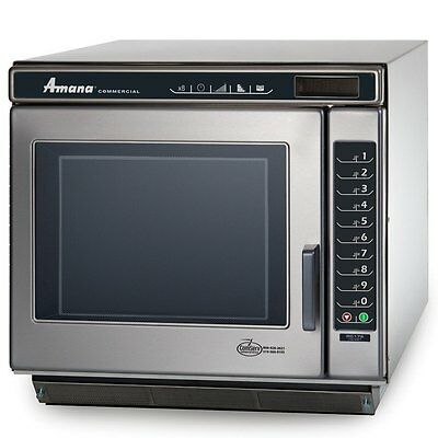 Amana Commercial 1 Cu.ft Microwave Oven Stainless 1700 Watts - Rc17S2