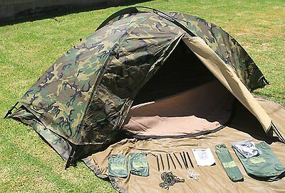 NEW Eureka TCOP One Man Combat Tent USGI Surplus