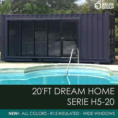 20' FT Shipping Container Home - 160 Sqft. - Brand New House  - Made in USA