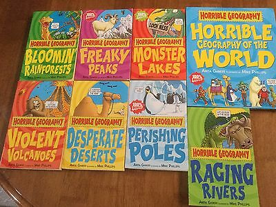 HORRIBLE GEOGRAPHY Set of Books