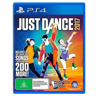 Just Dance 2017  (Sony PlayStation 4, 2016) GAME