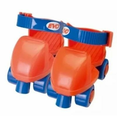 BNIB Evo Quad Childrens Roller Skates UK size: 5-11 - Ages 3+ Red/Blue