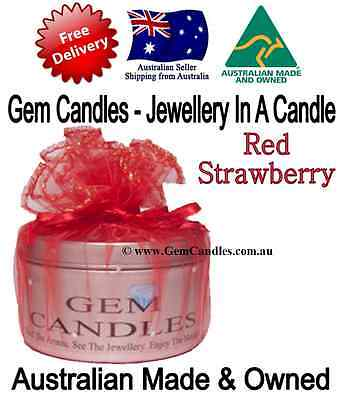 Strawberry - Jewellery In Candles FREE POST massage sensual sexc romantic