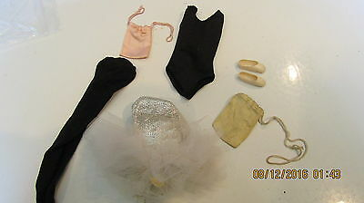 Vintage barbie Outfit Ballerina #989 1961-1965