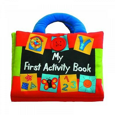 Quiet Book by K's Kids - My First Activity Story Book Play and Learn Baby Book