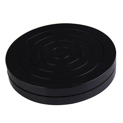18cm Plastic Turntable Pottery Clay Sculpture Tools 360 Flexible Rotation FEVD