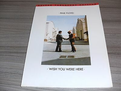 Pink Floyd Wish You Were Here Guitar Tablature Edition Music Book