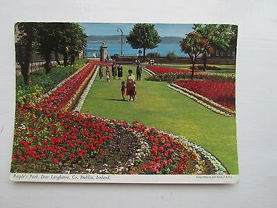Dun Laoghaire People's Park   John Hinde 2/189 old postcard