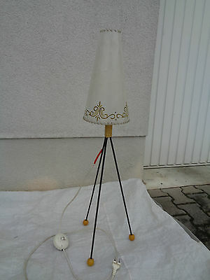 Alte Stehlampe ca. 90cm