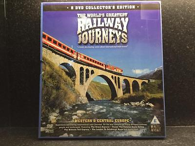 Railway Journeys DVD Box Set 8 DVD Collectors Edition Western & Central Europe