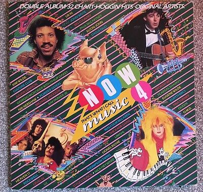 Now That's What I Call Music 4 -vinyl Double LP-Various Artists 1980s Classics