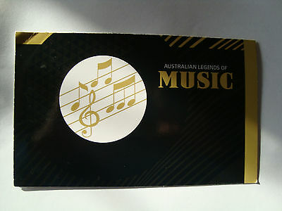 Music Legends - Collection Of Mint Australian Stamps Brand New Presentation Pack