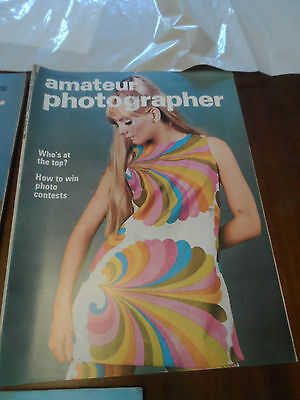 AMATEUR PHOTOGRAPHER CAMERA magazine TWIGGY COVER 14 august 1968 GLAMOUR