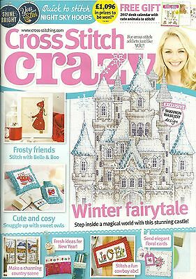 Cross Stitch Crazy Issue 224 + Free Gift NEW