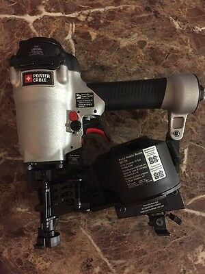 (B) Porter-Cable-1-3/4 in Coil Roofing Nailer RN175B NEW