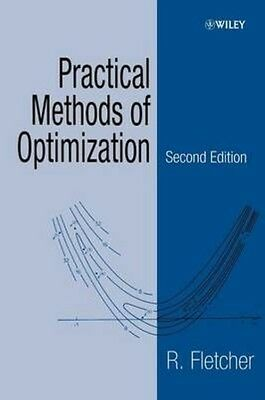 Practical Methods of Optimization by R. Fletcher Paperback Book (English)