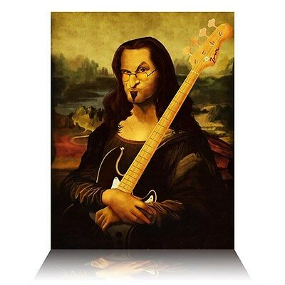 Rush Limited Edition Geddy Leesa Print Hand Number #1 of 52 Not Fade Away Lee