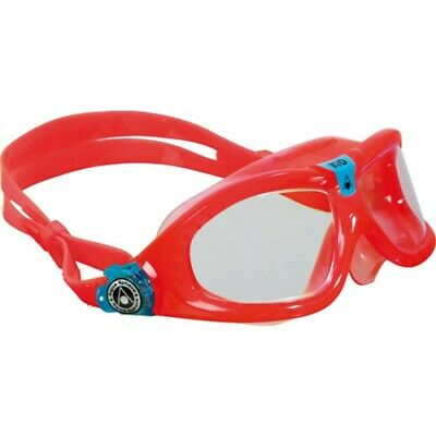 Aqua Sphere Seal Kid 2 Swimming Goggle - Clear Lenses - Red