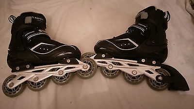Raven In-Line Roller Skates adj Size 3-6 (36-39) Tried on, never used