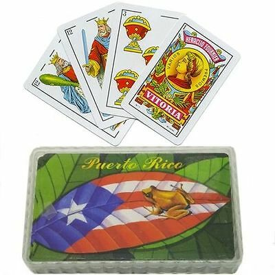 Puerto Rico Flag Briscas - Baraja Espanola - Naipes Spanish Playing Cards #3