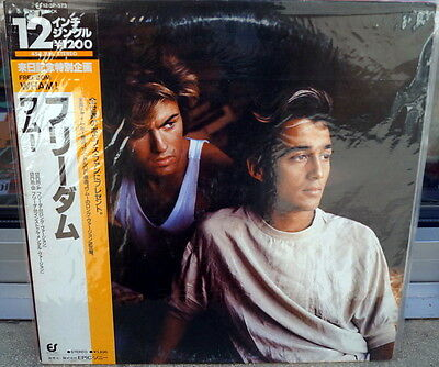 "Wham! ‎""Freedom (Long Version)"" RARE 1984 JAPAN Extended 12"""