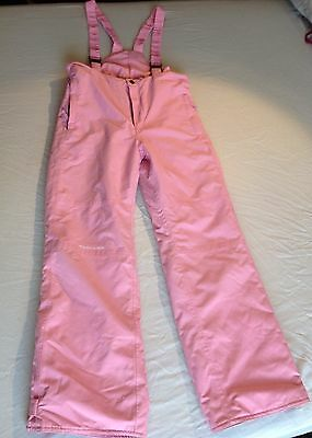 White Rock Salopettes Ski Snowboard Trousers Age 14 / Ladies 10-12