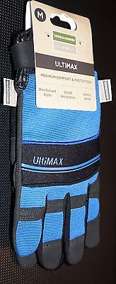Town & Country Mens Deluxe Ultimax Gardening Gloves Medium or Large