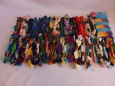 Embroidery thread bundle Job lot.Approx 160