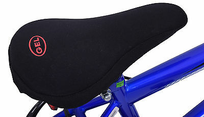 Boys/Girls bike seat soft gel extreme comfort padded kids saddle cushion cover