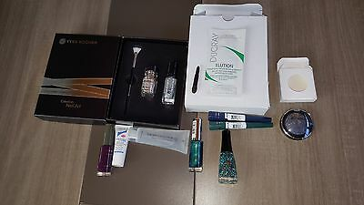 ; ) KIT yves rocher NEUF + vernis a ongles +2eyes liner+1fard a paupiere
