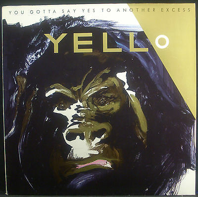 LP YELLO - you gotta say yes to another excess, Vertigo