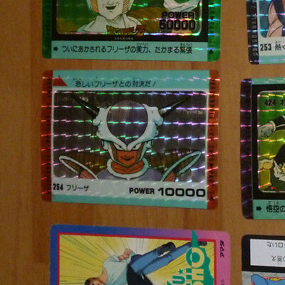 Dragon Ball Z Dbz Amada Pp Carddass Card Prism Carte 254 Made In Japan Rare **