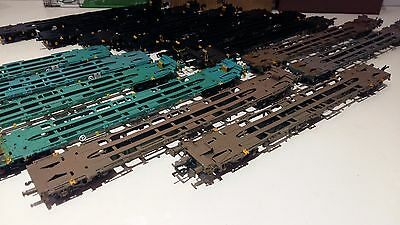 BACHMANN BIG LOT of 14 INTERMODAL WAGONS & CONTAINERS OO GAUGE