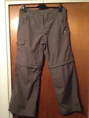 Craghoppers Womens Classic Kiwi Zip Off Convertible Walking Trousers UK10S