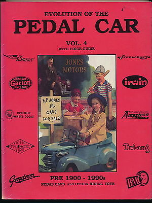 Evolution of the Pedal Car Vol. 4 book, Great Condition