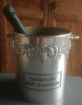"""Vintage French """"MOET & CHANDON"""" Champagne, wine cooler,ice bucket, sekt, secchio"""