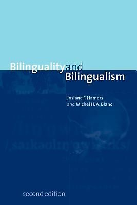 Bilinguality and Bilingualism by Michel Blanc (English) Paperback Book