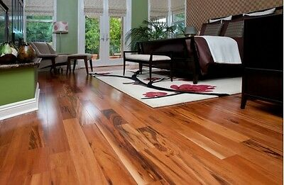 "Clearance!!Prefinished Tigerwood5""hardwood floor only $3.99!!"