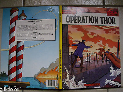 Operation Thor / Lefranc / Martin & Chaillet 1985