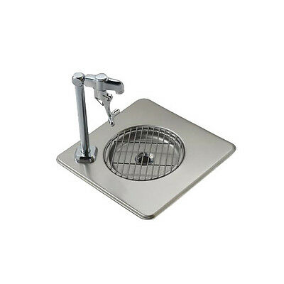 "Krowne Metal WS-1 12-1/2""x12-1/2"" Stainless Steel Drop-in Water Station"