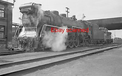 Canadian National CN Railway Steam Engine #6032 4-8-2 Negative Toronto ON 1958