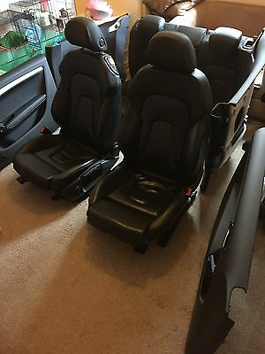 Audi A5 Sport Seats And Full Interior